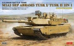 Rye Field Model 5026 M1A2 SEP Abrams TUSK I /TUSK II with full interior 1/35