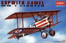 Academy 12447 Sopwith camel (1624)(1:72)