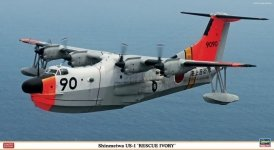 Hasegawa 02094 Shinmeiwa US-1 Rescue Ivory 1/72