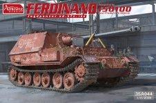 Amusing Hobby 35A044 Ferdinand Jagdpanzer sd.kfz. 184 NO.15100 1/35