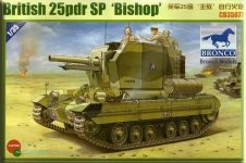 Bronco CB35077 Valentine 25 pdr SP Bishop (1:35)