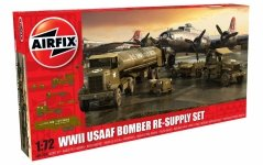 Airfix 06304 WWII USAAF 8th Air Force Bomber Resupply Set 1/72