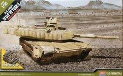 Academy 13504 M1A2 Abrams SEP v2 TUSK II 1/35
