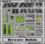 Eduard FE279 Brewster Buffalo 1/48 Tamiya