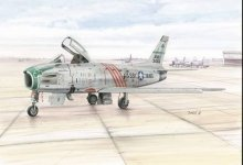 Special Hobby 72167 F-86H Sabre Hog ANG (1:72)