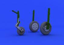 Eduard 648110 MiG-21PFM wheels 1/48 (EDUARD)