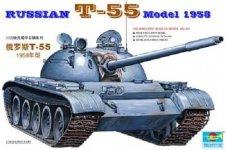 Trumpeter 00342 RUSSIAN T-55 Model 1958 (1:35)