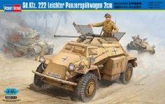 Hobby Boss 82442 Sd.Kfz. 222 Leichter Panzerspahwagen 2cm (1:35)
