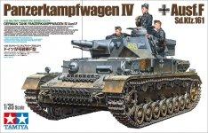 Tamiya 35374 Panzerkampfwagen IV Ausf. F 1/35