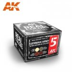 AK Interactive RCS005 GERMAN ARMY WWII INTERIOR COLORS SET (4x10ml)