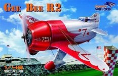 Dora Wings 48001 GEE BEE R-2 SUPER SPORTSTER AIRCRAFT 1/48