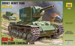 Zvezda 3608 Soviet heavy tank KW-2 (1:35)