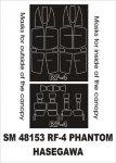 Montex SM48153 RF-4 Phantom HASEGAWA