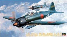 Hasegawa JT72 Zero Fighter Type 52 HEI (1:48)