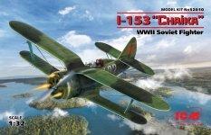ICM 32010 I-153 WWII Soviet Fighter 1/32