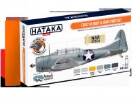 Hataka HTK-CS53 Early US Navy & USMC paint set 6x17ml