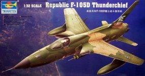 Trumpeter 02201 Republic F-105D Thunderchief (1:32)