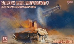 Modelcollect UA72092 Germany Rheintochter 1 movable Missile launcher with E75 body (1:72)