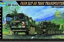 Trumpeter 00203 Faun Elephant SLT-56 Panzer transporter (1:35)