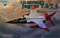 Kitty Hawk 80105 SEPECAT Jaguar T.2/T.4 (1:48)