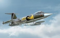 Italeri 1296 F-104 G RECCE (1:72)