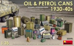 MiniArt 35595 OIL & PETROL CANS 1930-40s (1/35)