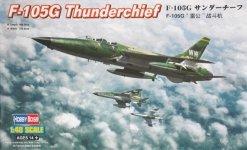 Hobby Boss 80333 F-105G Thunderchief (1:48)