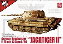 Modelcollect UA35003 German Jagdpanzer E-75 mit 12.8cm L/66 Jagdtiger II 1/35