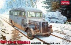 Roden 807 Opel 3.6-47 Omnibus, model w39 Ludewig-built (1:35)