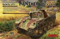 Meng Model TS-035 Sd.Kfz.171 PANTHER Ausf. A Late 1/35