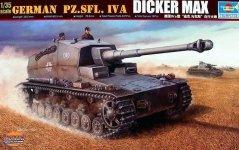Trumpeter 00348 German Pz.Sfl. IVa Dicker Max (1:35)