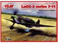 ICM 48093 LaGG-3 series 7-11 (1:48)