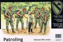 Master Box 3599 US Marines Patrolling (Vietnam War series) (1:35)