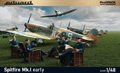 Eduard 82152 Spitfire Mk.I early Profipack edition 1/48