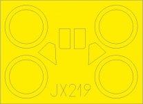 Eduard JX219 I-153 Chaika ICM 1/32
