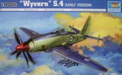 Trumpeter 02843 Wyvern S.4 Early Version (1:48)