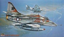 Hasegawa ST13 A-4E/F Skyhawk (1:32)