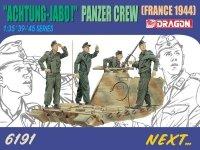 Dragon 6191 Panzer Crew Achtung Jabo (1:35)