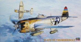 Hasegawa JT40 P-47D-25 Thunderbolt (1:48)