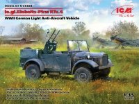 ICM 35584 le.gl.Einheits-Pkw Kfz.4 WWII German Light Anti-Aircraft Vehicle 1/35