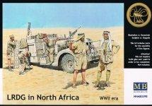 Master Box 3598 WW II era  LRDG in North Africa (1/35)