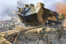 Hobby Boss 83858 French Saint-Chamond Heavy Tank - Early