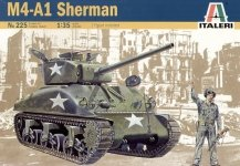 Italeri 0225 M4-A1 Sherman (1:35)