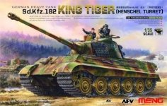 Meng Model TS-031 German Heavy Tank Sd.Kfz.182 King Tiger (Henschel Turret) 1/35