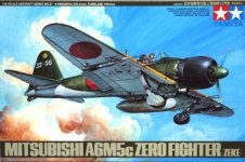 Tamiya 61027 A6M5c Type 52 Zero Fighter (1:48)