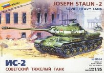 Zvezda 3524 Soviet Heavy Tank IS-2 (1:35)