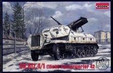Roden 712 Sd.Kfz.4/1 Panzerwerfer 42 (PzW42 Early, 15cm) (1:72)