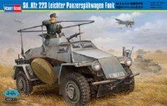 Hobby Boss 82443 Sd.Kfz.223 Leichter Panzerspahwagen Funk (1:35)