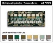 Vallejo PANZER ACES No3 (8 color set) (70126)