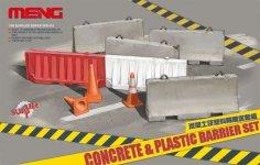Meng Model SPS-012 Concerte Plastic Barrier Set (1:35)